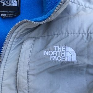 The North Face Jackets & Coats - The north face blue/grey jacket